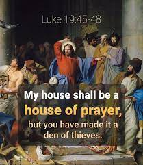 My house shall be a house of prayer,... - Holy Bible Project | Facebook